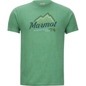 Marmot Beams SS Tee Men Green Heather